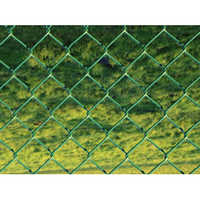 PVC Coated Square Chain Link Fence