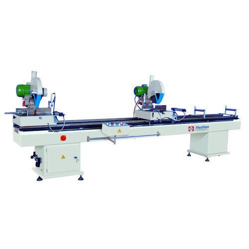 Two head cutting saw machine