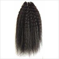 Steamed Kinky straight hair