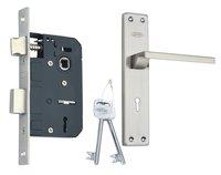 Stainless Steel Mortice Key Lock Set