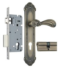 Zinc Mortise Handle Lock Set (ZZL8522MAB)