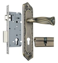 Zinc Mortise Handle Lock Set (ZZL8520MAB)