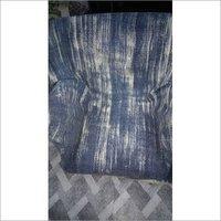 Dark Blue Cotton Printed Upholstery Fabric