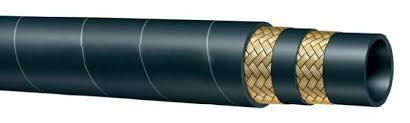 STEAM HOSE DOUBLE WIRE BRAIDED