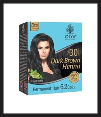 Dark Brown Henna Hair Dye