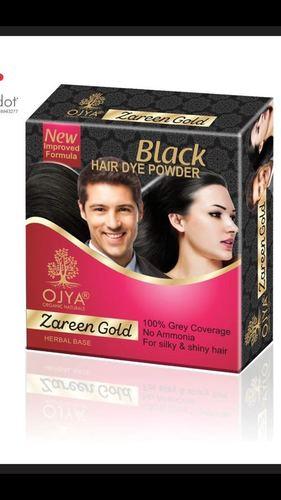 Black Hair Dye Powder