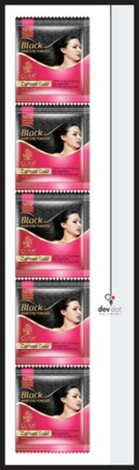 Black Hair Dye Powder