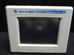 Allen-Bradley panelview plus 600 CAT 2711P-T6C20D