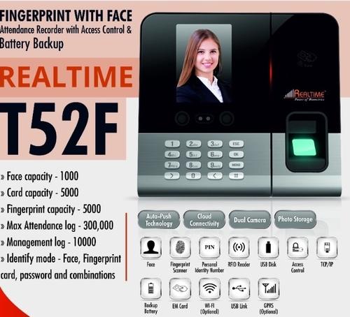Fingerprint With Face Attendance System