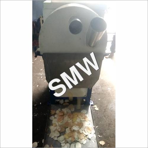 cutting machine for tapioca chips