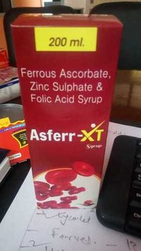 Ferrous Ascorbate And Folic Acid Syrup