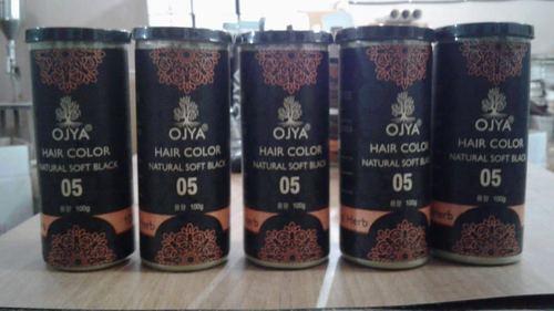 Natural Soft Black Hair Color