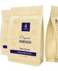Organics Indigo Blue Black