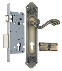 Zinc Mortise Handle Lock Set (ZZL0809MAB)