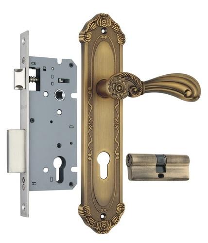 Zinc Mortise Handle Lock Set