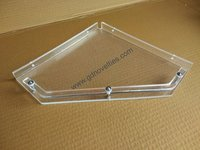 Acrylic Corner Shelf Diamond