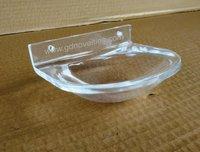 Acrylic Soap dish round