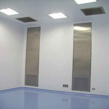 Clean Room Puf Partition Panel