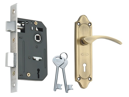 Steel Mortice Key Lock Set
