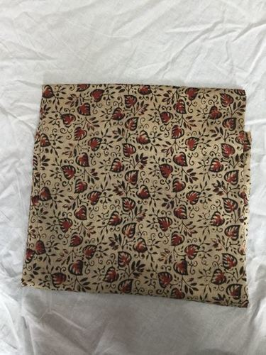 Bagru Hand Block Printed Dress Material