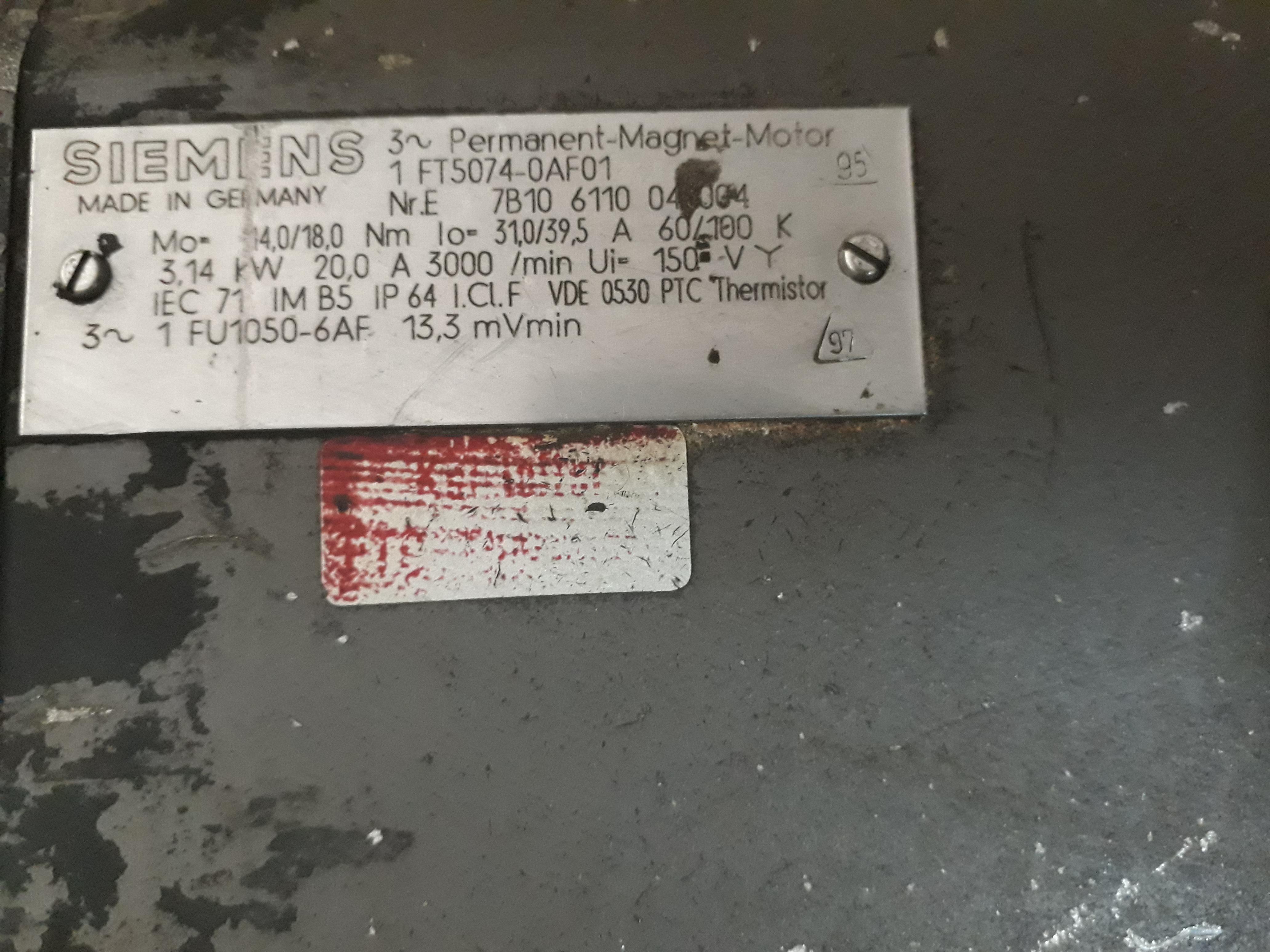 SIEMENS 1 FT5074-0AF01