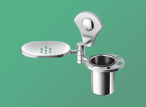 Oval Dish Glass holder