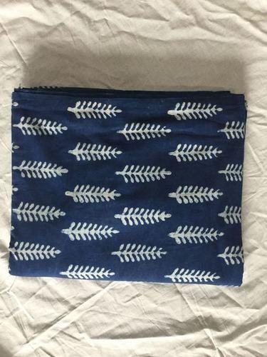 Indigo Dabu Hand Block Printed Dress material
