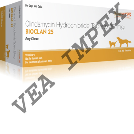 Bioclan 25MG(Clindamycin Hydrochloride Tablets)