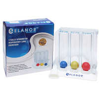 Lung Exerciser 3 Ball Spirometer