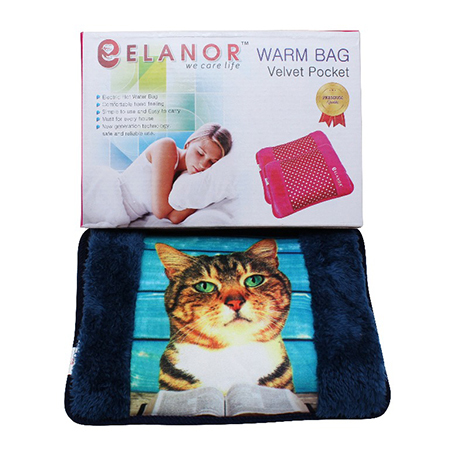 Electric Warm Bag Velvet with Pocket