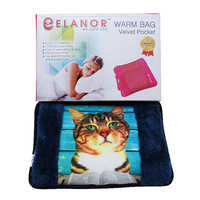 Electric Warm Bag Velvet with Pocket