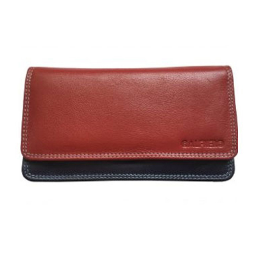 Red Multi Ladies Mobile Wallet