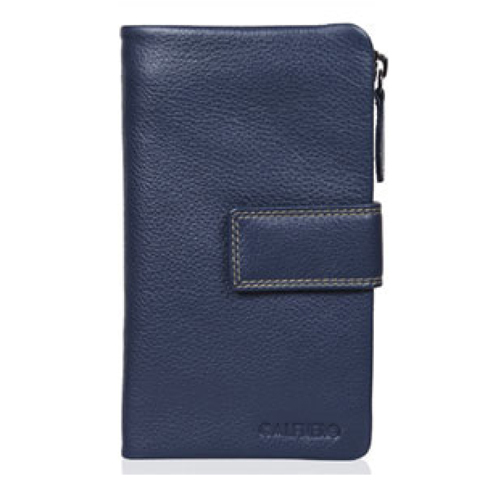 Navy Colour Ultra Soft Ladies Wallet