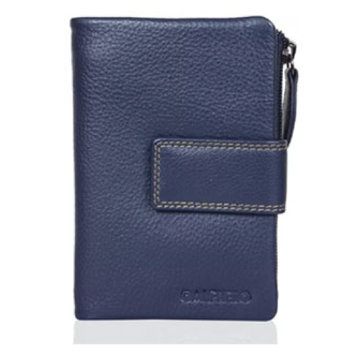 Navy Colour Ultra Soft Long Wallet