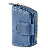 Navy Womens Leather Wallet