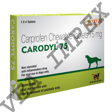 Carodyl 75mg(Carprofen Chewable Tablets )