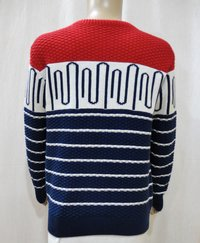 Boy Kid Allover Jacquard Sweater