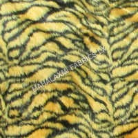Animal Print Fur Fabric