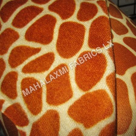 Tortoise Print Velvet Fabric