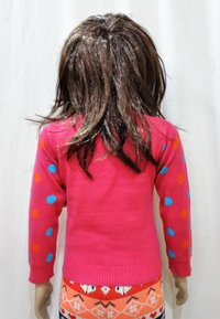 Baby Girl Intarsia Sweater