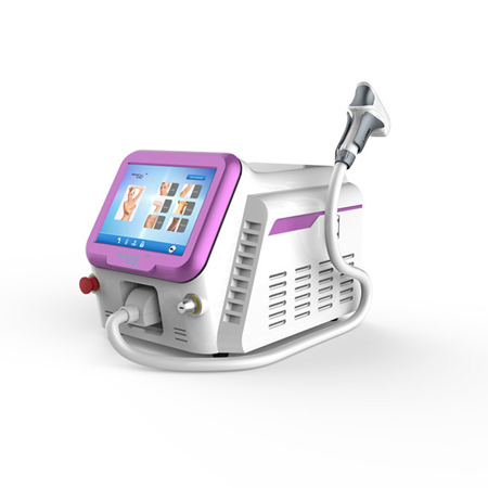 Triple Wavelength Yag Laser Hair Removal Machine