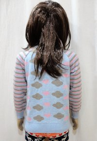 Girl Kid Zipper Sweater