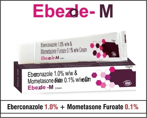 Eberconazole + Mometasone Furoate