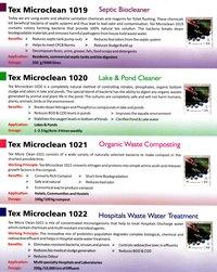 Tex microclean bio culture