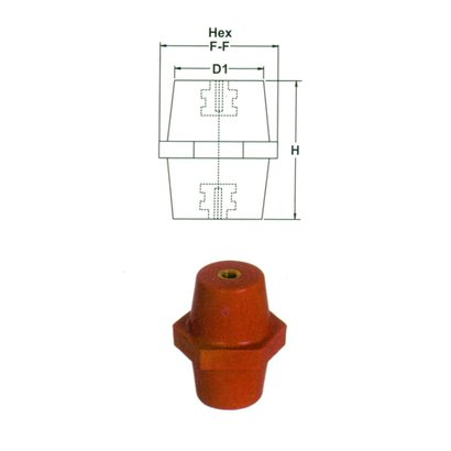Hexagonal Electrical Insulators Application: Used For Circuit Boards