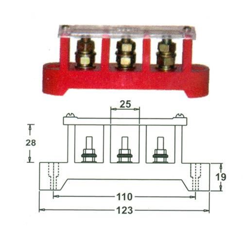 Split bolt Phase Connector