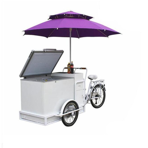 Portable Ice Cream Cart