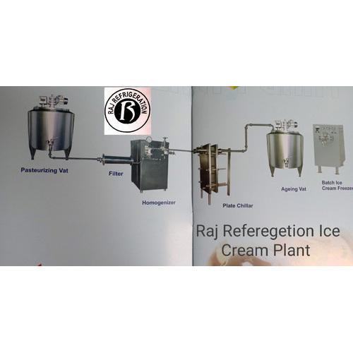 Mini Ice Cream Plant