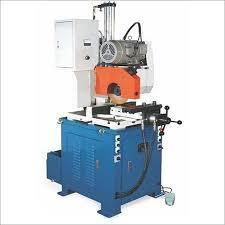 semi hydraulic saw machine