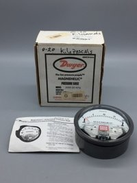 Dwyer Magnehelic Differential Pressure Gauge Model 2000-20KPA